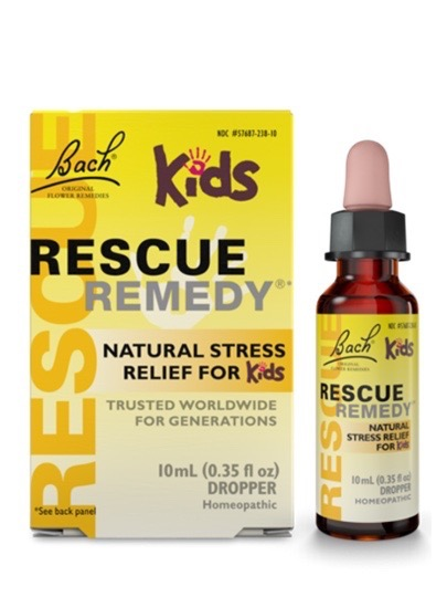 Rescue Remedy Natural Stress Relief for Kids (alcohol free) 10ml Dropper